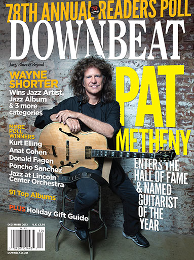 Pat Metheny : News: Pat Metheny named to the Downbeat Hall