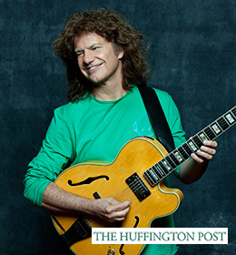 Pat Metheny with Huffington Post logo