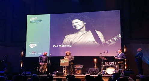 Pat honored by JAZZFM as 2018 winner of the Music Gold Award