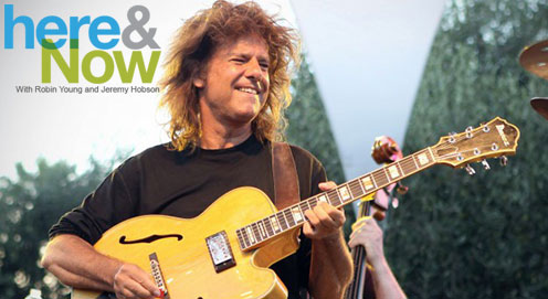 "Pat Metheny Discusses ""Kin"" with NPR's Robin Young for Here & Now"