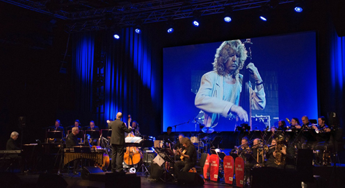Pat pays tribute to his friend Eberhard Weber at a concert in Stuttgart, Germany January 23 by composing a new 30 minute suite for the occasion