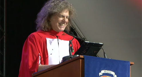 Pat Metheny receives Doctor of Music honorary degree from McGill University